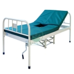 Semi-Fowler Bed, Manual (with Provision for Bed Pan)